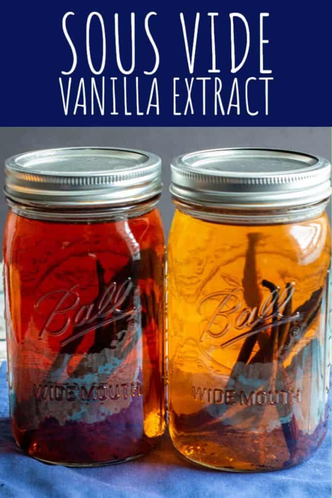 Sous Vide Vanilla Extract | A Nerd Cooks