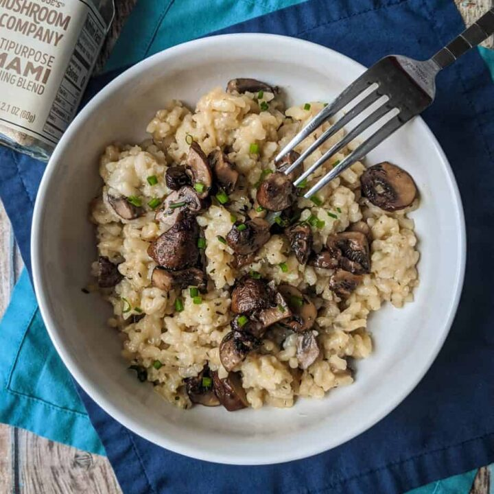 Mushroom Risotto | A Nerd Cooks