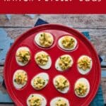 Ranch Deviled Eggs | A Nerd Cooks